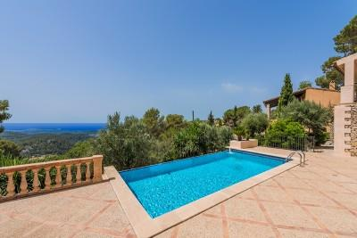 Charming houses with sea views in Galilea, Mallorca