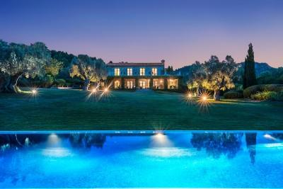 Stunning country estate with sea views for sale near Pollença.  Exclusive to Balearic Properties & Savills Mallorca