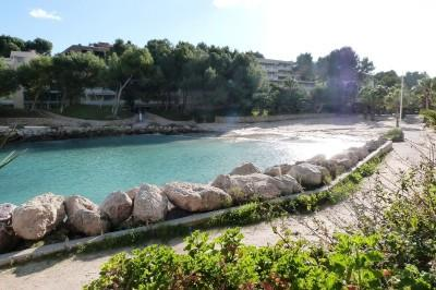 cala vinyes Beach with direct access
