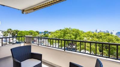 Newly renovated penthouse apartment in the centre of Portals Nous, Mallorca