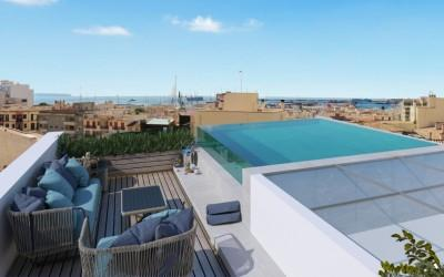 Exceptional penthouse apartment in Santa Catalina, Palma