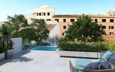 Duplex apartment in Santa Catalina, Mallorca