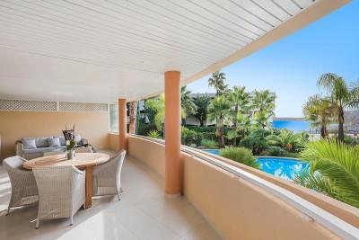 Beautiful Gardenapartment with partial Seaview in Portals Nous