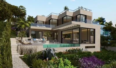 Impressive villa for sale in Costa d´en Blanes, Mallorca