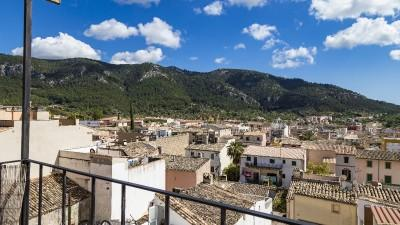 Charming town house with roof terrace and panoramic views for sale in Andratx, Mallorca