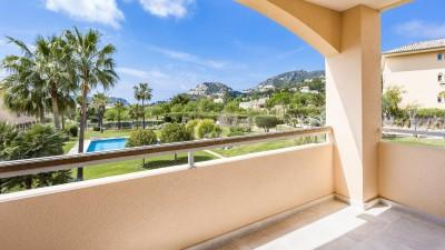 Luxury apartment in popular community for sale in Port Andratx, Mallorca