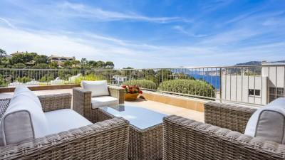 Ground floor luxury apartment for sale in Puerto Andratx, Mallorca