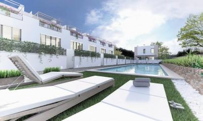 Modern, brand new townhouses for sale in Puerto de Andratx, Mallorca
