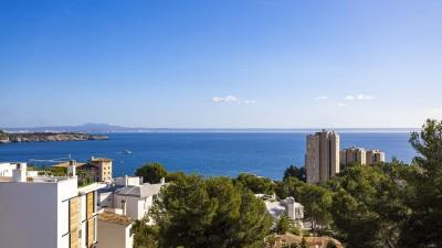 Charming sea view penthouse for sale in Cas Català, Mallorca