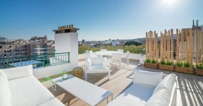 Top quality penthouse with views to the Cathedral for sale in Palma de Mallorca