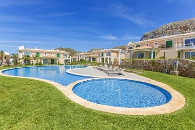 Gorgeous ground floor apartment near the beach for sale in Colonia de San Pere, Mallorca