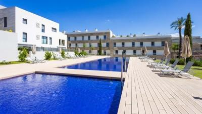 Ground floor newly built apartment for sale in a residential community near Son Vida, Mallorca