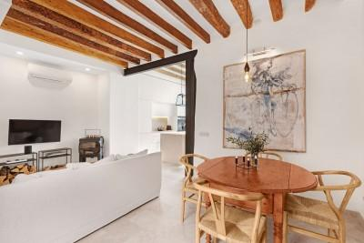 Fully renovated town house for sale in the centre of Pollensa, Mallorca