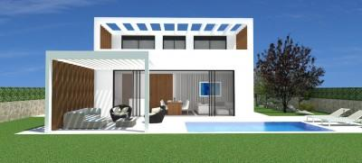 High quality villa in construction for sale in Santanyi, Mallorca