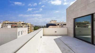 Fantastic newly built penthouse near the beach for sale in Palma, Mallorca