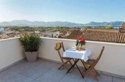 Penthouse apartment for sale in the centre of Alcudia old town, Mallorca