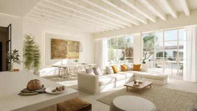 Newly built contemporary town house for sale in Santanyí, Mallorca