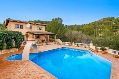 Peaceful country villa for sale in Son Font, Calviá, Mallorca