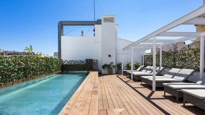 Apartment with community roof terrace and pool for sale in Palma, Mallorca
