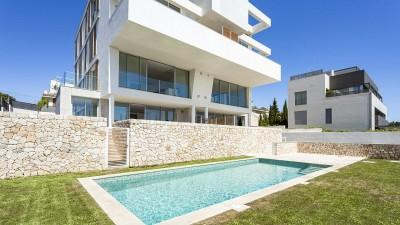 Newly built, sea view apartment for sale in Bonanova, Mallorca