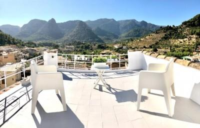 Traditional village house with incredible views for sale in Bunyola, Mallorca