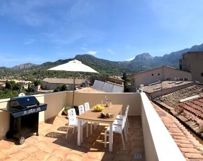Charming village house with mountain views for sale in Soller, Mallorca