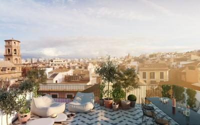 High end apartment in a central location for sale in Palma de Mallorca