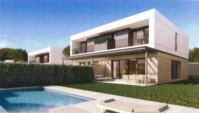 Newly built semi-detached houses for sale with private garden and pool near Llucmajor, Mallorca