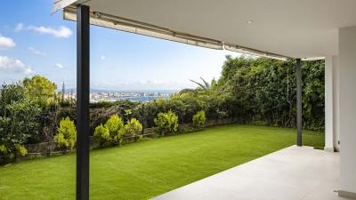 Garden apartment for sale with fantastic views in Bonanova, Mallorca