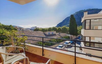 Apartment with views for sale in Pollensa, Mallorca