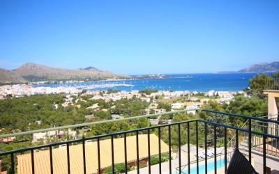 Nice villa for sale close to Puerto de Pollensa, Mallorca