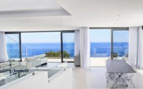 Frontline modern villa with views for sale in Canyamel, Mallorca