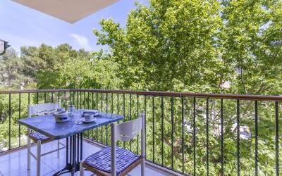 Centrally located first floor apartment for sale in Puerto Pollensa, Mallorca
