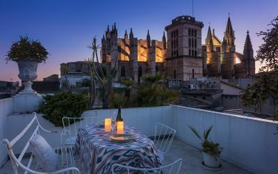 Fantastic investment town house with superb views for sale in Palma, Mallorca