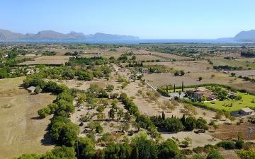 Land for sale with sea views in Pollensa, North Mallorca