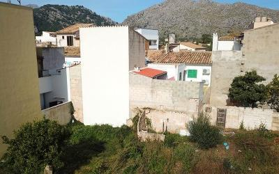 One of the last urban plots for sale in Pollensa, Mallorca