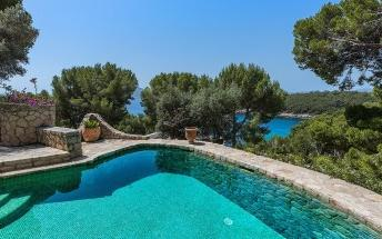 Amazing stone villa with fantastic sea views for sale in Formentor, Mallorca
