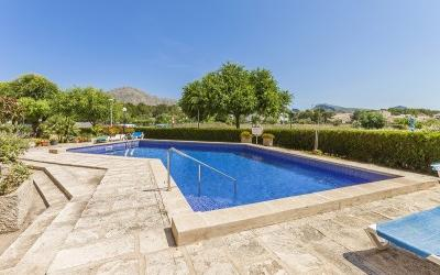 Impeccable top floor apartment for sale in Puerto Pollensa, Mallorca