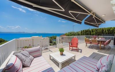 Luxury sea view villa for sale in Alcanada, Alcúdia, Mallorca