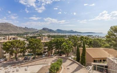 Stunning seaview townhouse for sale in Puerto Pollensa, Mallorca