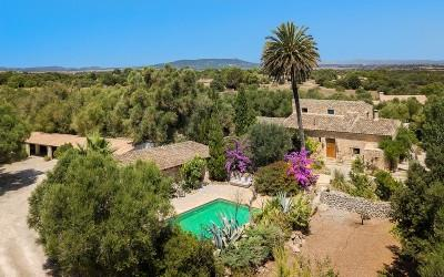 Enchanting country home for sale between Manacor and Felanitx, Mallorca