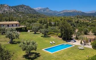 Stunning country estate for sale in Pollença EXCLUSIVE WITH BALEARIC PROPERTIES