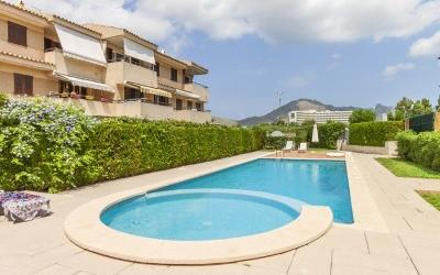 Great house with pool for sale in Puerto Pollensa, Mallorca