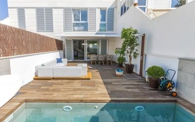 Newly built townhouse for sale in Portixol, Mallorca