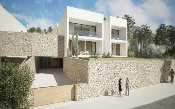 Outstanding villa project with countryside views for sale in Alaró, Mallorca