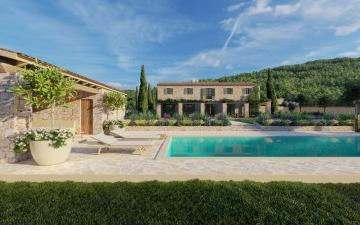 Beautiful plot with a luxury villa project, for sale in Campanet, Mallorca