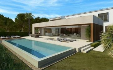 Exceptional villa project with sea views for sale in Bon Aire, Mallorca