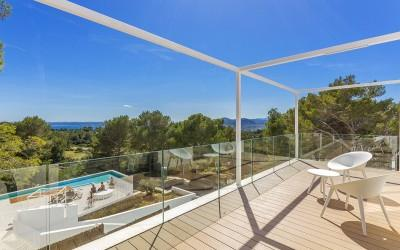 Exciting modern villa with rental license for sale in Bon Aire, Mallorca