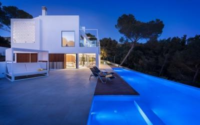 Exciting, modern sea view villa for sale in Bon Aire, Mallorca