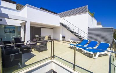 Luxury penthouse in the exclusive area of Boquer for sale in Puerto Pollensa, Mallorca